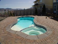 Mandalay Bay Fiberglass Pool and Spa in Suffolk, VA